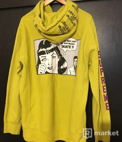 supreme x thrasher hoodie