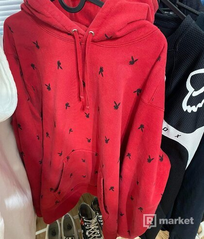 supreme playboyhoodie