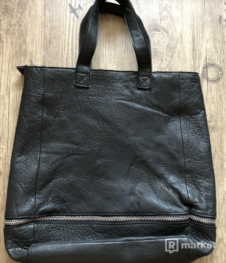 Unisexová taška značky Thiga z kvalitnej talianskej kože