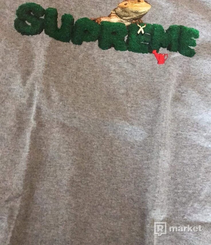 Supreme lizard t-shirt