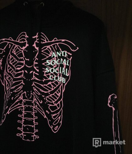 Anti Social Social Club- Car underwater black hoodie
