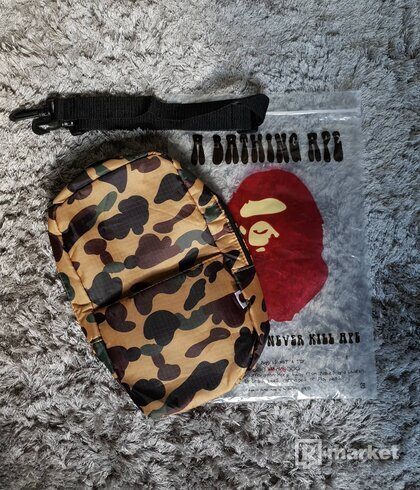 Bape Shoulder Bag Camo