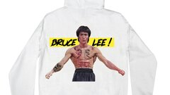 BRUCE LEE - ENTER THE DRAGON HOODIE -