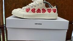 Converse CDG white low