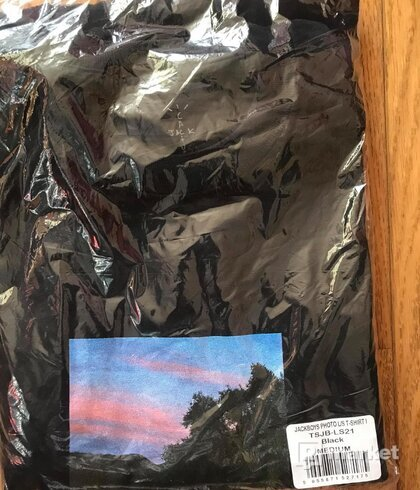 Travis Scott JACKBOYS Photo L/S T-Shirt Black