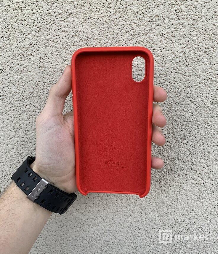 Apple iPhone XR Red Silicone Case