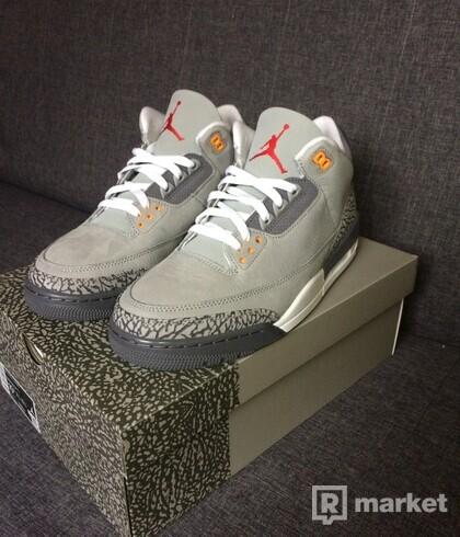 "Air Jordan 3 Retro ""Cool Gray"""