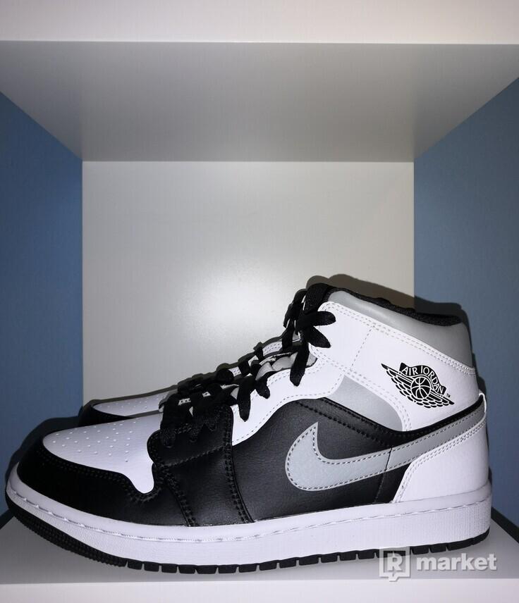 Jordan 1 Mid White Shadow 2x 42