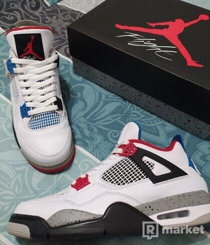 Air Jordan 4 WHAT THE size 45