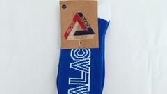 Palace Socks Blue Logo