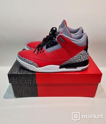 Jordan 3 Fire Red
