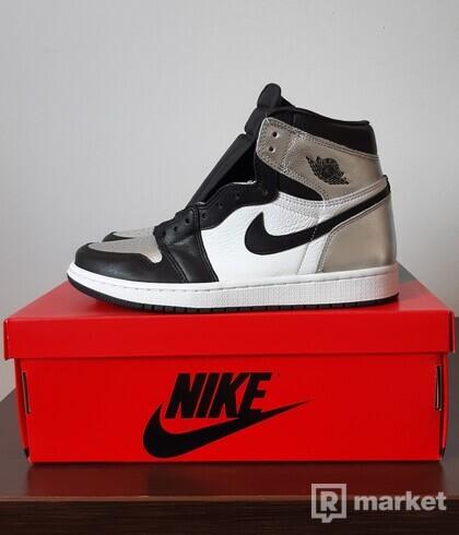 Jordan 1 high silver toe