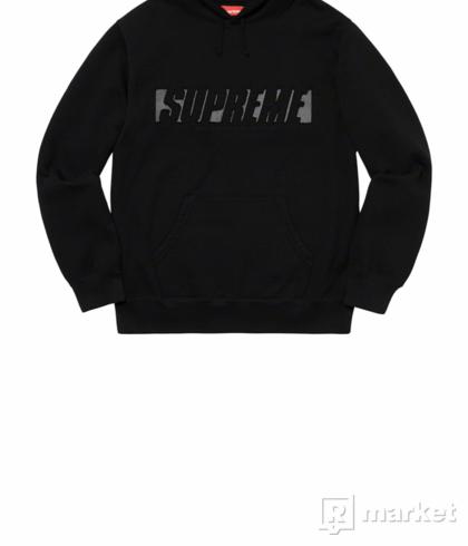 Supreme reflective hoodie