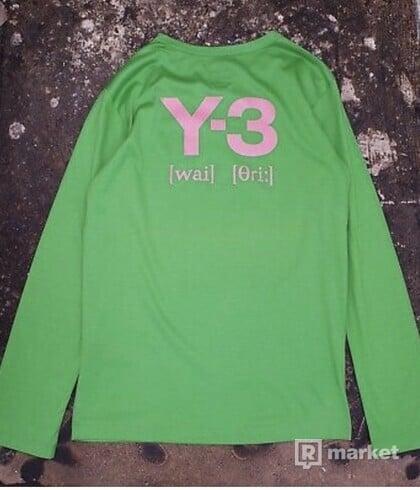 Y-3 longsleev
