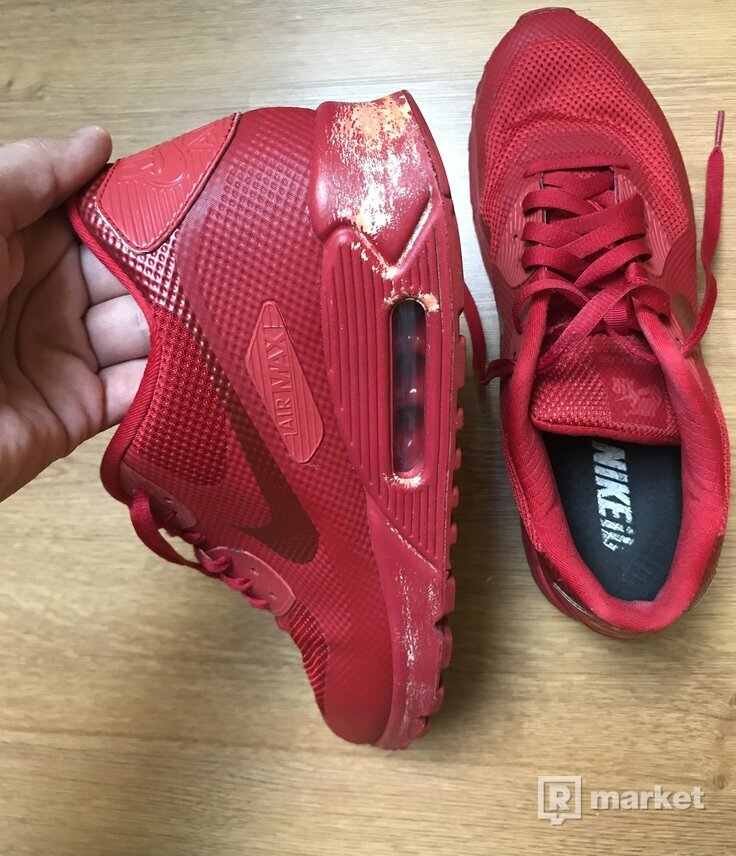 Nike AirMax Hyperfuse Solar Red