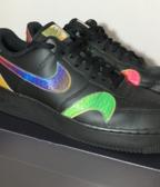 Nike Air Force 1 '07 lv8 black / multi - color - black