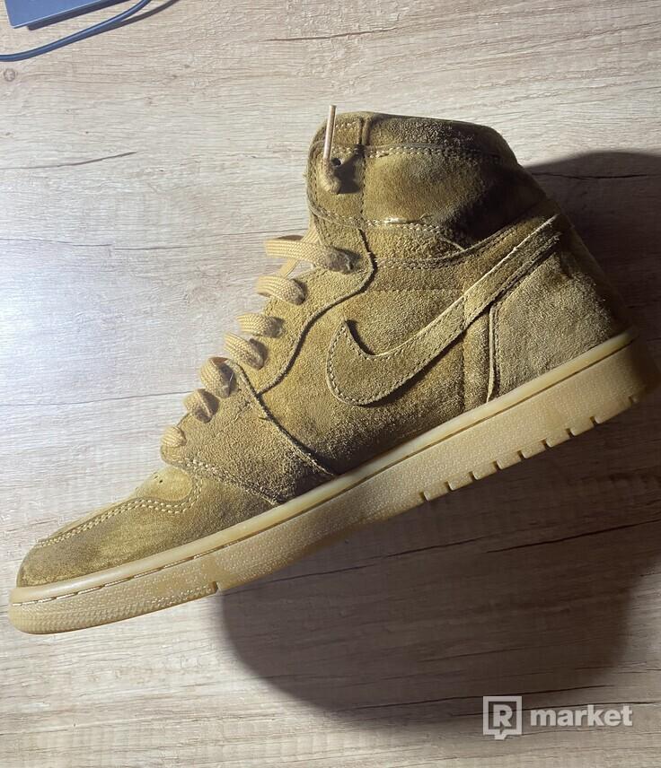 """Air Jordan 1 """"Wheat"""""""