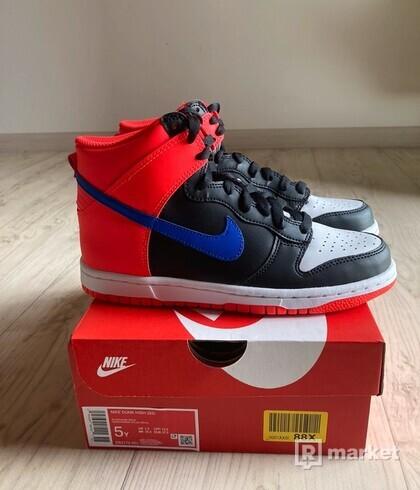 Nike Dunk High Knicks