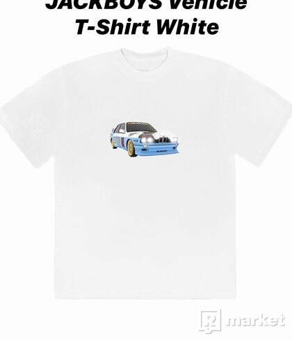 Travis Scott JACKBOYS Vehicle T-shirt