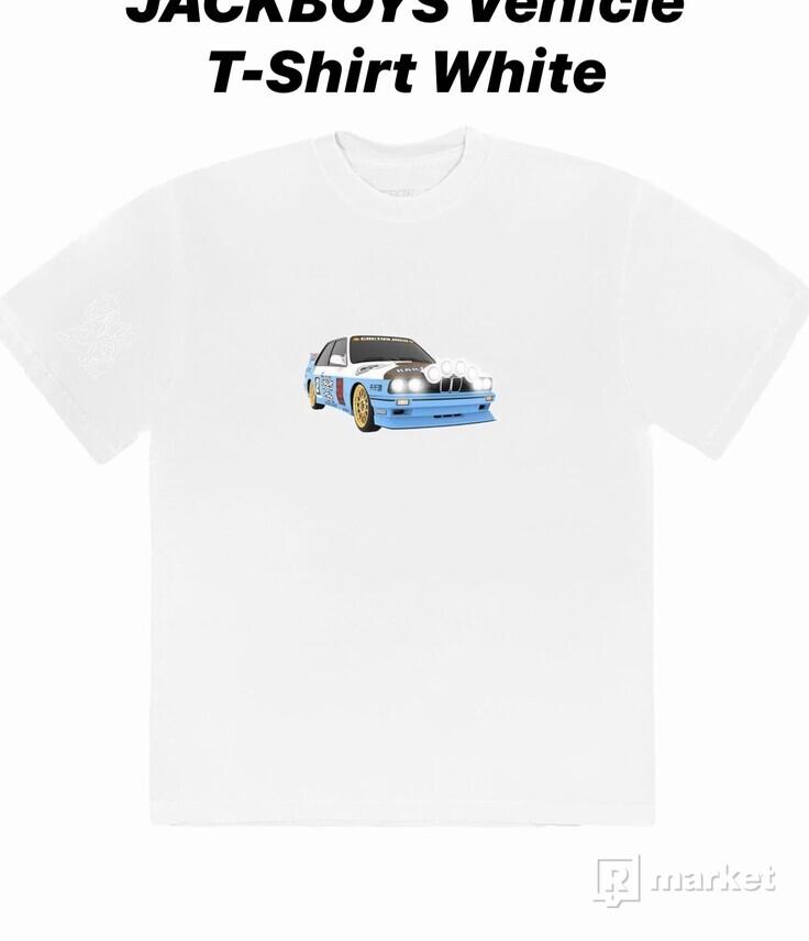 Travis Scott JACKBOYS Vehicle T-shirt