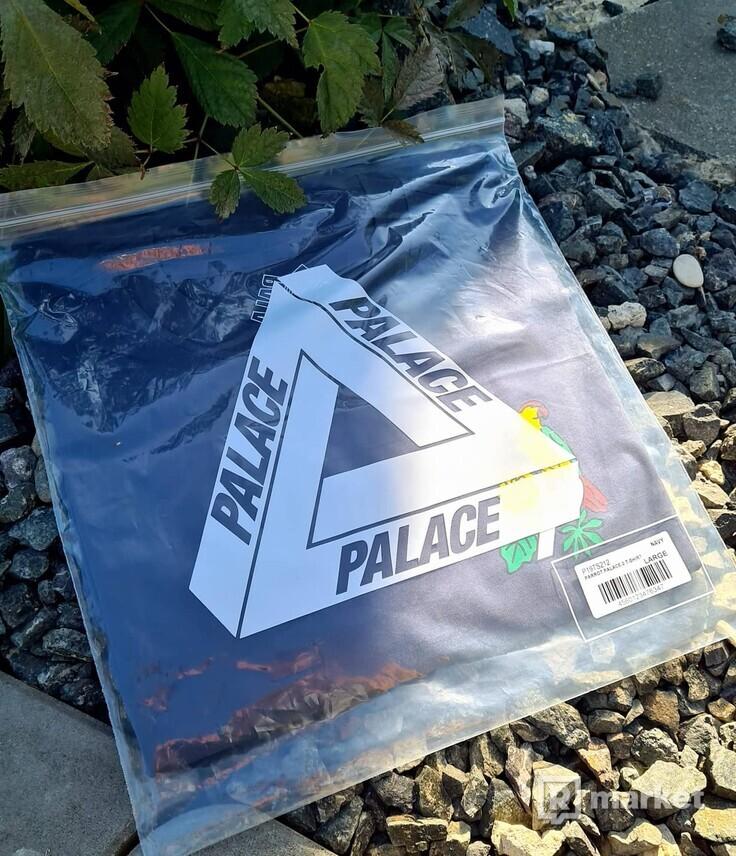 Palace Parrot tee navy