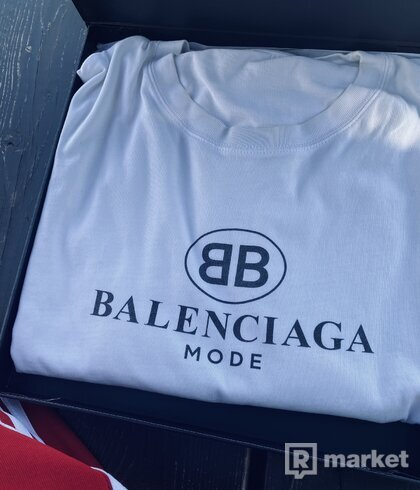 Balenciaga mode tee white