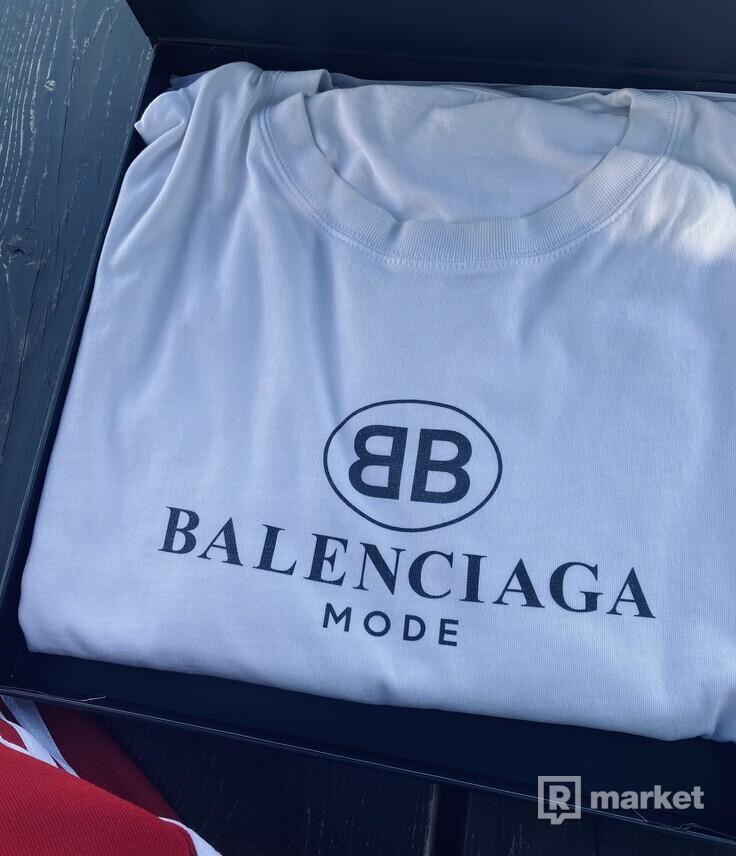 Balenciaga mode tee white