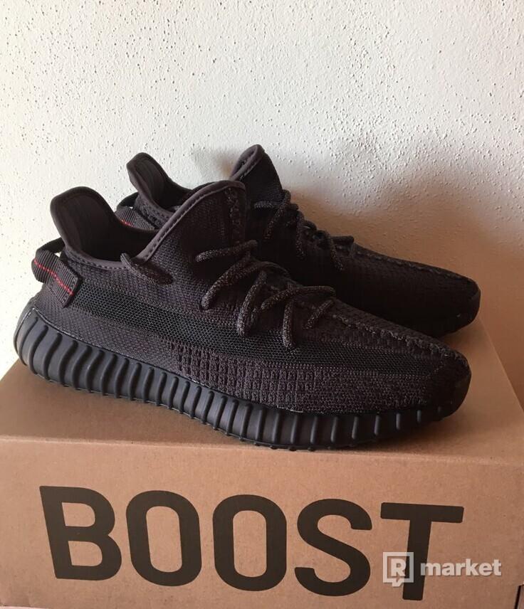 Adidas Yeezy Boost  350 V2 Black (Non- Reflective)
