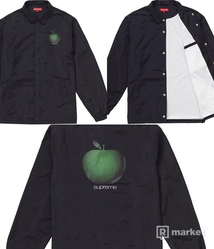 Supreme apple coach jacket