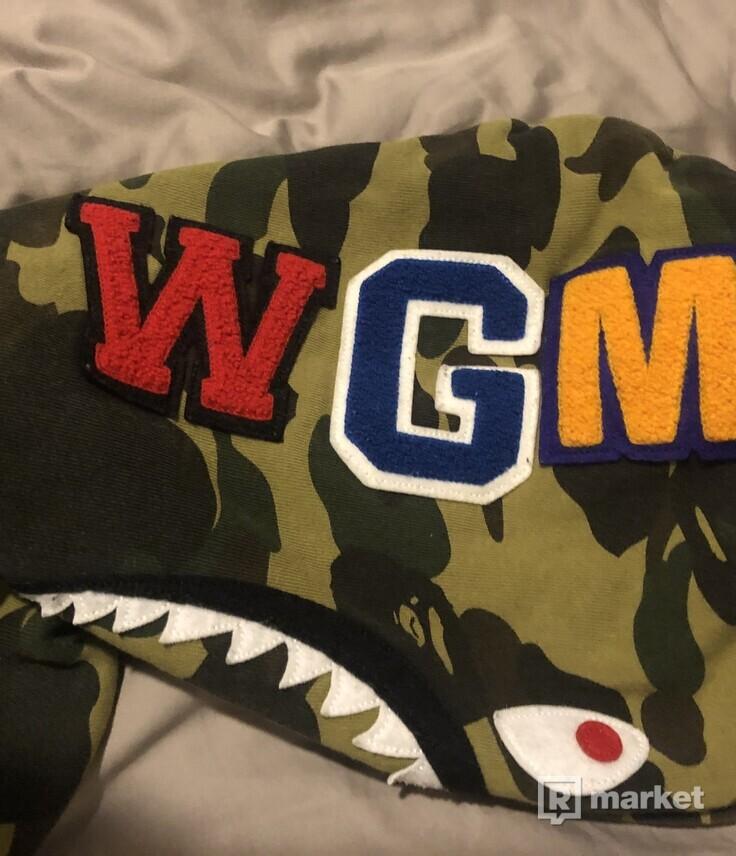BAPE 1st CAMO shark hoodie