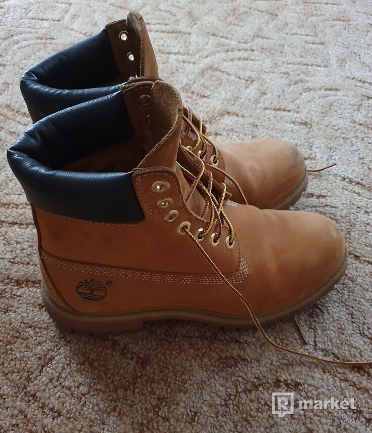 TIMBERLAND AF 6IN PREMIUM BOOT WHEAT