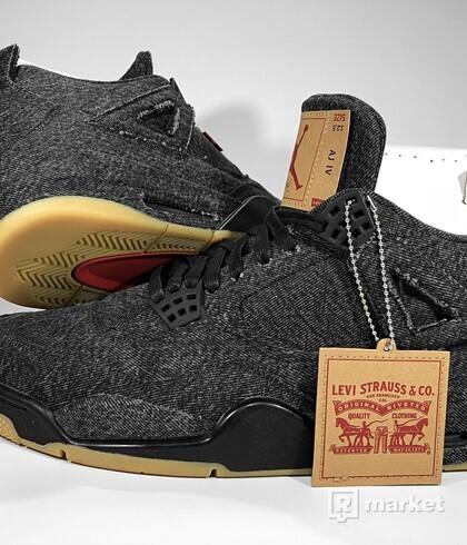 Air Jordan Retro 4 NRG x Levi's