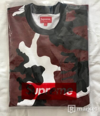 Supreme L/S Pocket Tee