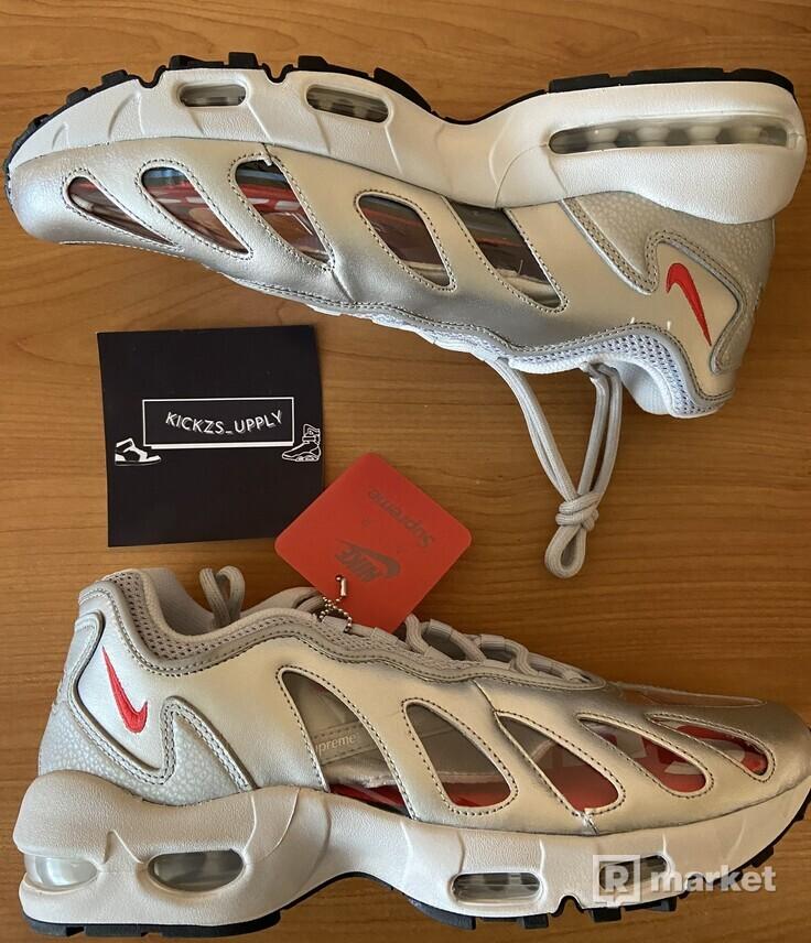 Nike Air Max 96 Supreme Silver Bullet