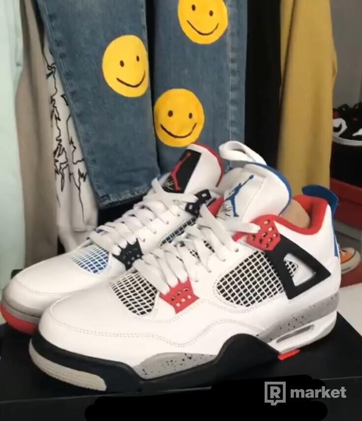 """Jordan 4 """"What the"""""""