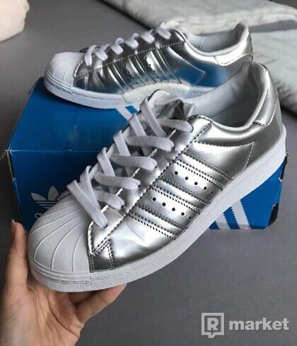 Adidas Superstar W Silver Boost