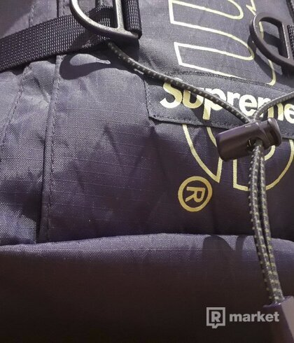 Supreme Backpack FW/18 Purple