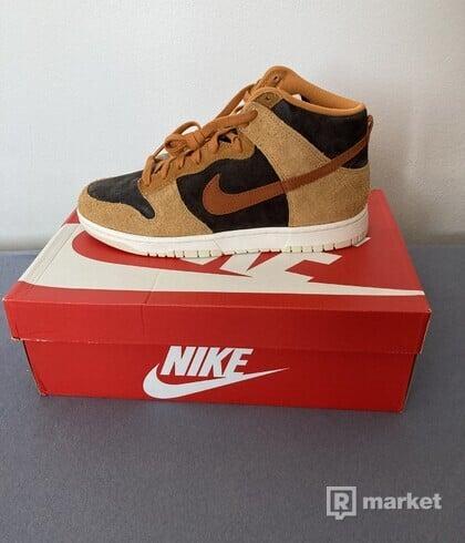 Nike dunk high Dark Russet Premium