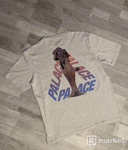 Palace Skateboards Rolls P3 T-Shirt (sivé)