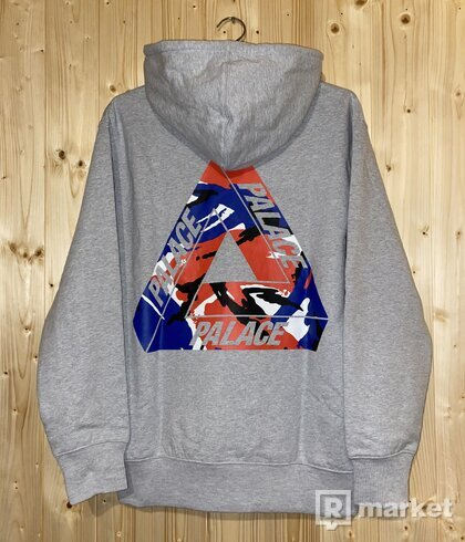 Pslace tri-camo hoodie