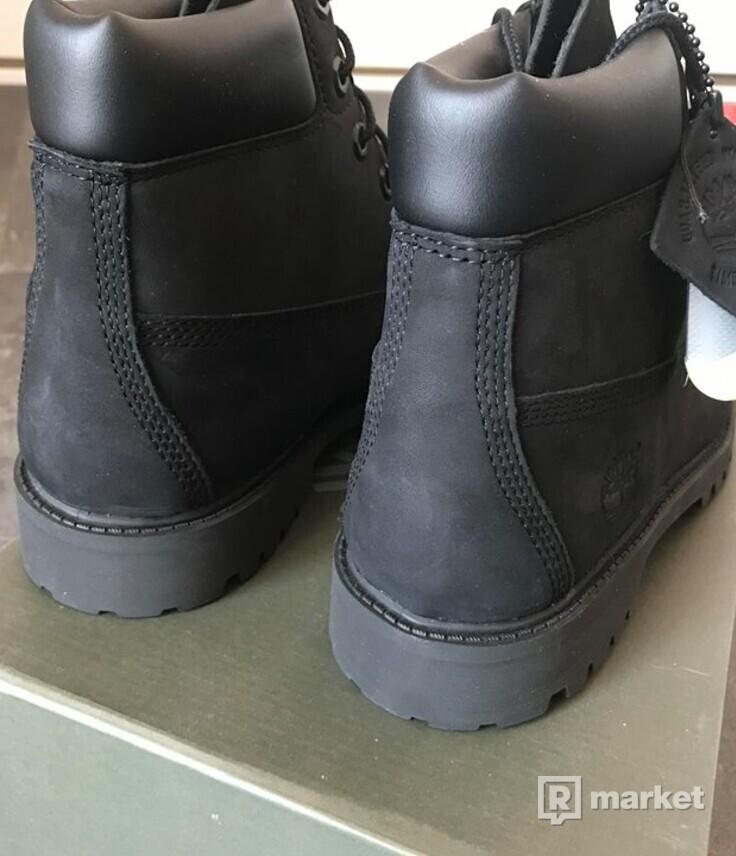 Timberland 6 inch junior black