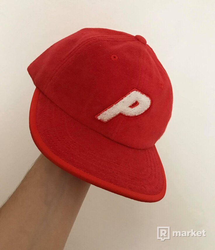 PALACE Towell Red 6-Panel Cap
