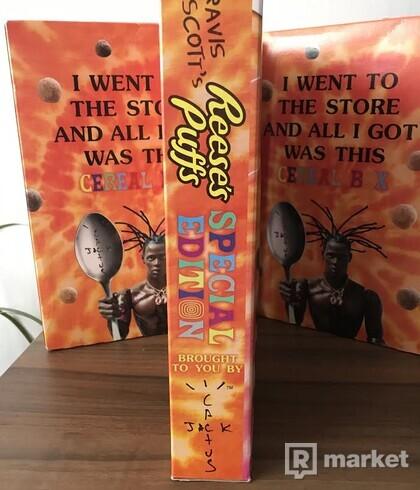 TRAVIS SCOTT's Reese's Puffs Cereal Box