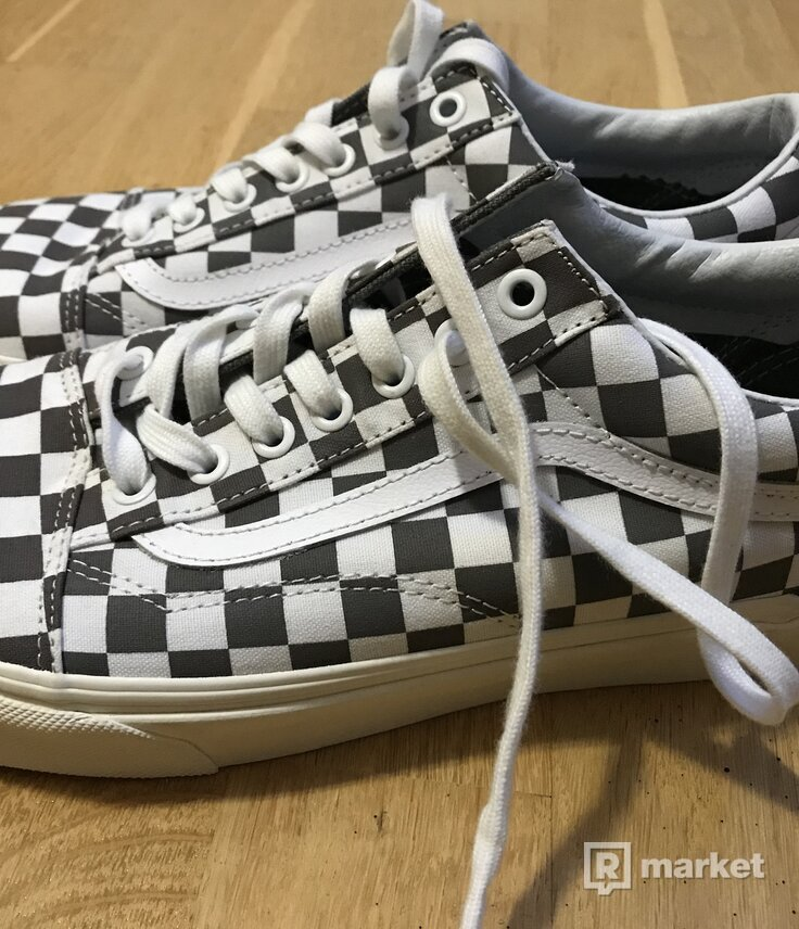 VANS OLD SKOOL (CHECKERBOARD) Pewter/ Marshmallow