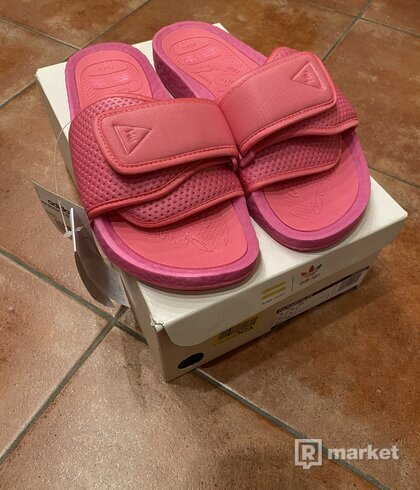 Adidas PW BOOST SLIDE růžový