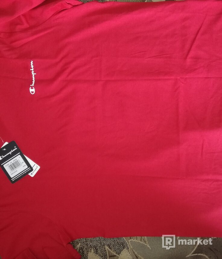 Champion Red Tee