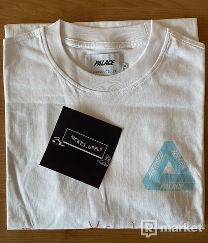 Palace Juergen Teller 3 T-shirt White