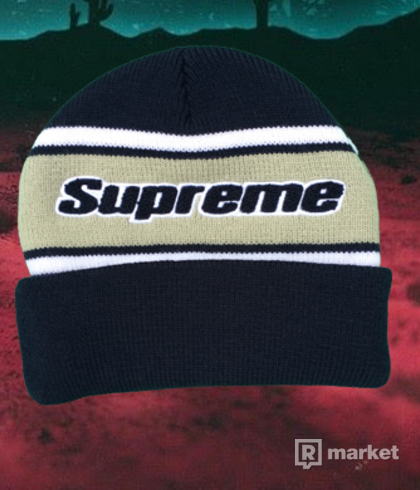 Supreme Stripe Beanie