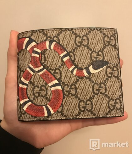 Gucci Snakeskin wallet