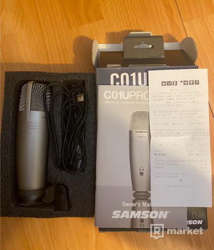 mikrofon samson c01u pro